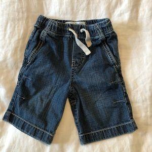 Mini Boden Jean Shorts (1.5-2Y)